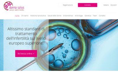 Rozšiřujeme portfolio po Evropě – web pro italskou kliniku Donna Salus